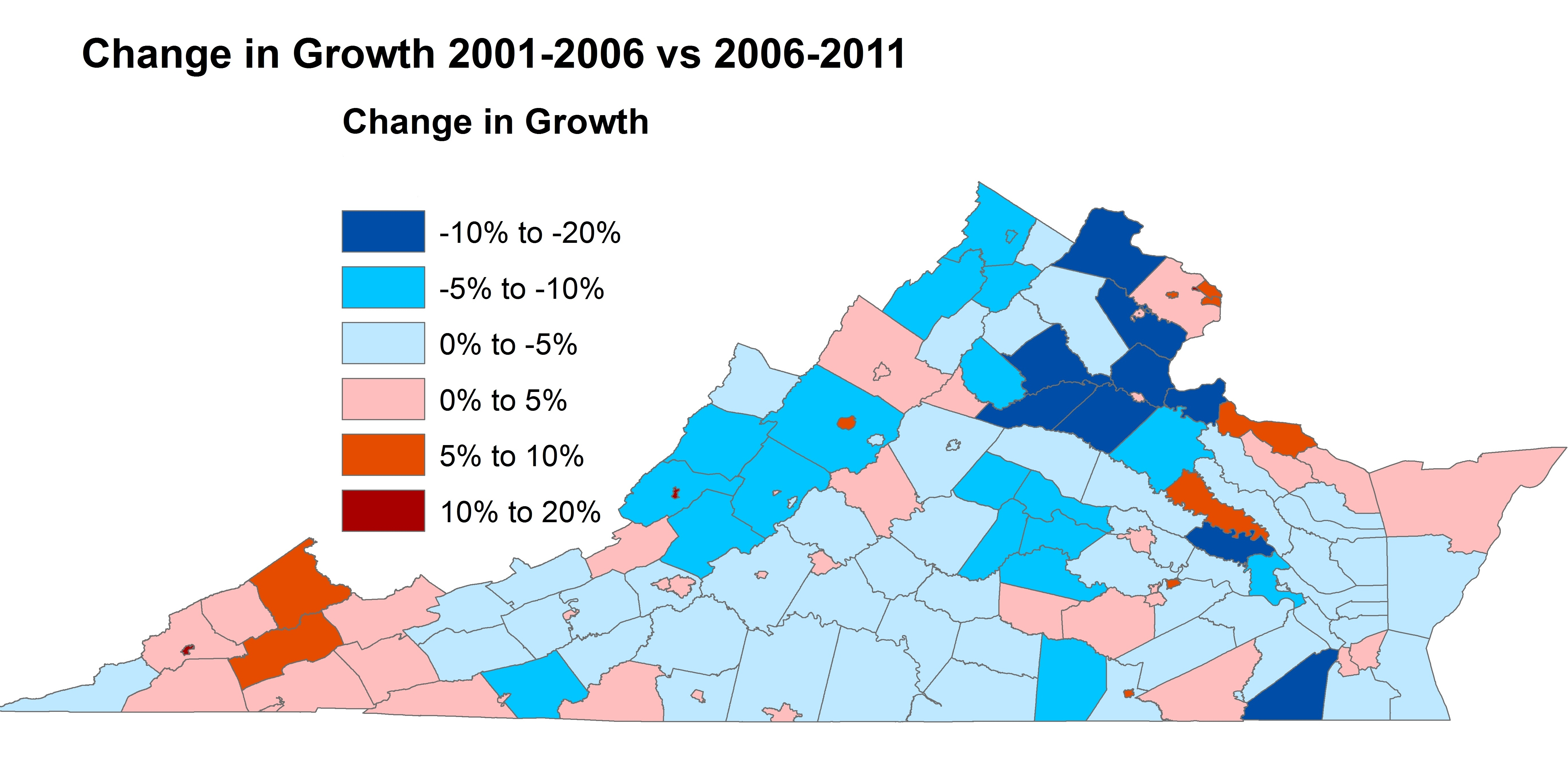 Virginia S Changing Population Growth Trends Statchat