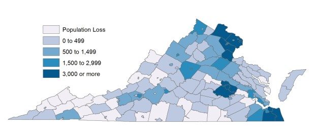 Numerical Change 2010-2012