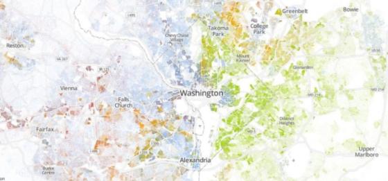 Racial Dot Map « Stat Chat