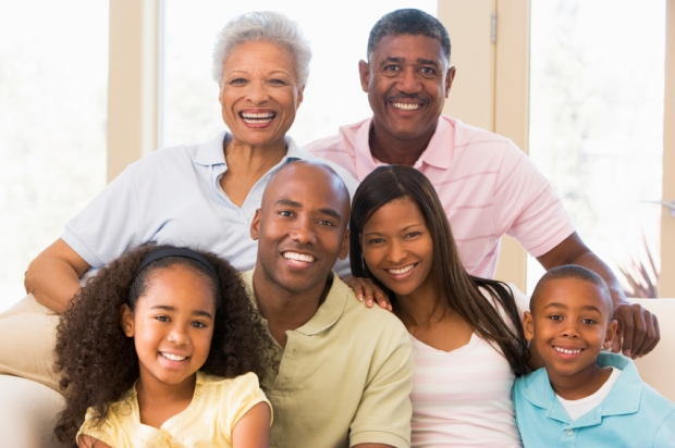 Multigenerational black family