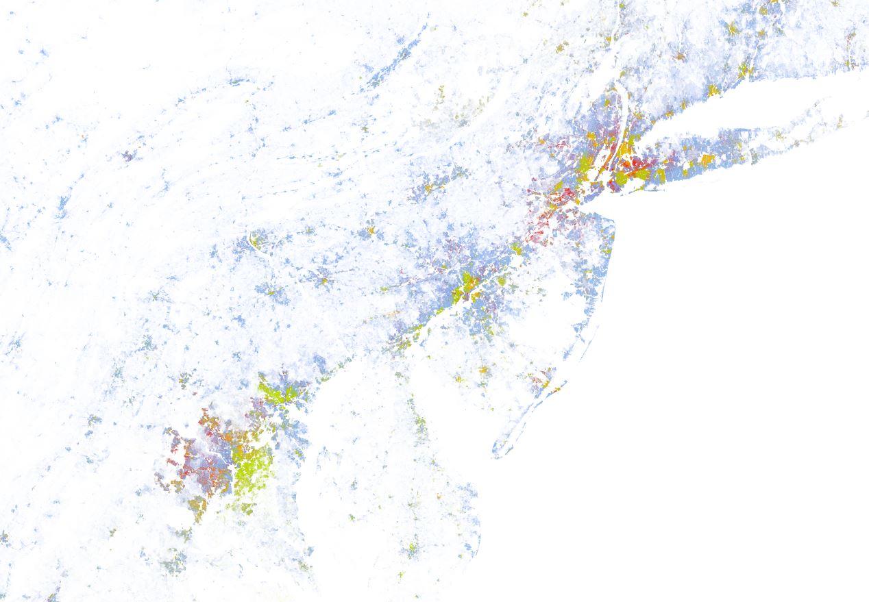 Us racial dot map