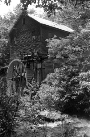 Brookside Mill, Grayson County, Built 1876